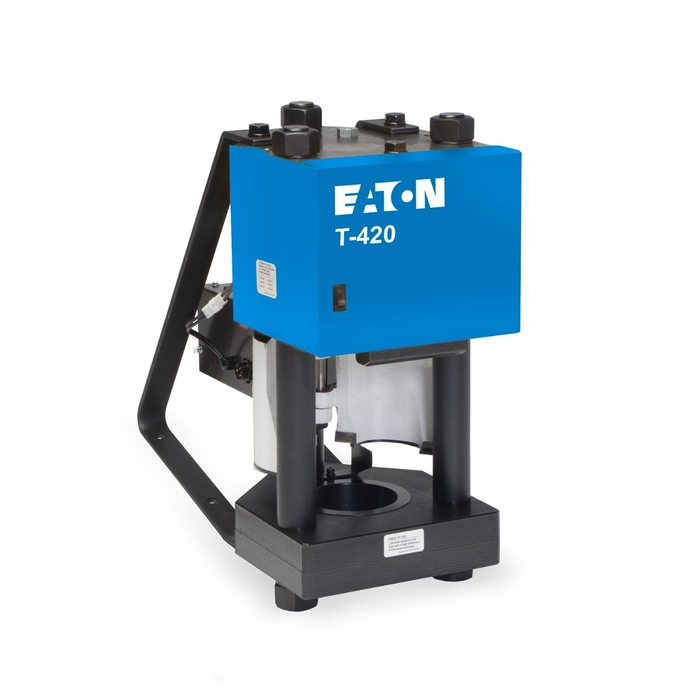 Eaton T-420 Positive Stop Hose Crimp Machine